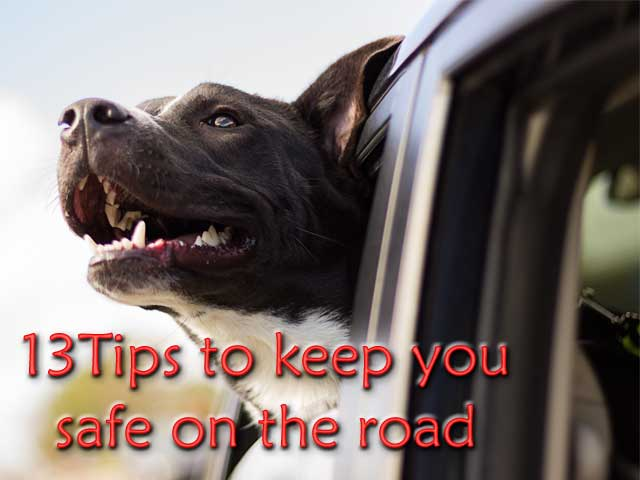 how to keep safe on the road