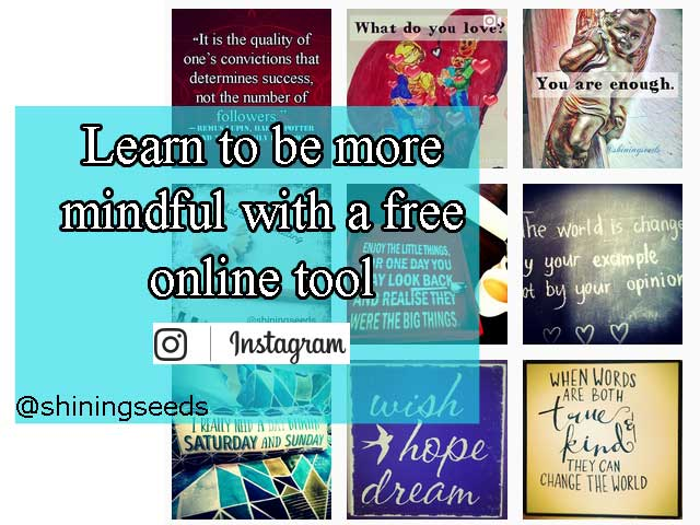 Learn to be more #mindful with a free online tool – #Instagram