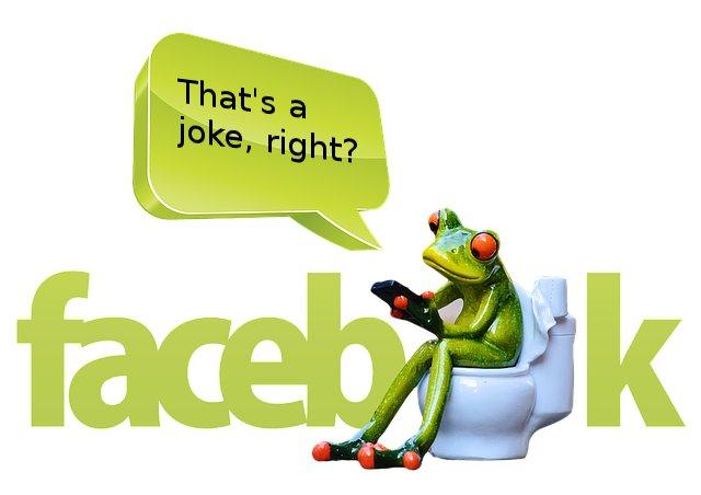frogReadingFaceBook